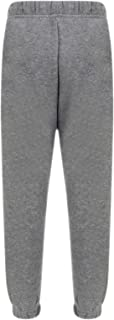 Aelstores Boys Girls Childrens Kids School PE Fleece Jogging Tracksuit Bottoms Trousers 3-14 Years