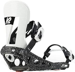 K2 Lineup Snowboard Bindings - 2019 Men's - Medium, Black/White
