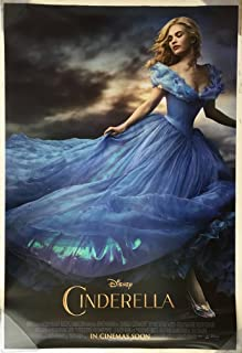 CINDERELLA MOVIE POSTER 2 Sided ORIGINAL INTL FINAL 27x40 LILY JAMES