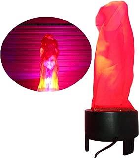电子 LED 假火焰模拟火焰效果灯光无热基支持万圣节人造火焰 3D 野营火 圣诞节、节日夜总会HM-222-064