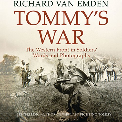 Tommy's War audiobook cover art