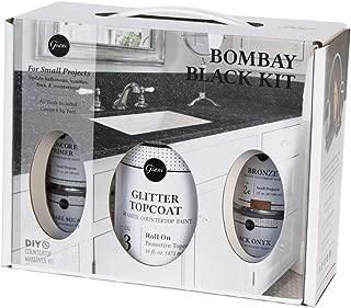 Giani Granite Small Project Paint Kit, Bombay Black