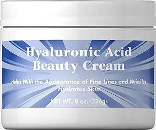 Puritan's Pride Hyaluronic Acid Cream-8 oz Cream