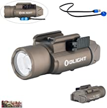OLIGHT PL-Pro valkyrie 1500 Lumen Weaponlight PL-2 Rechargeable Light, Built-in Battery, Magnetic USB Charging, Quick Release Mount for Glock, Picatinny Rail