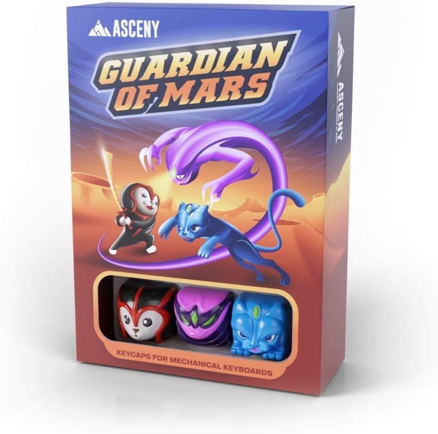 Asceny Herocaps - Guardian of Mars Artisan Keycaps