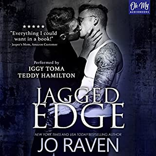 Jagged Edge audiobook cover art
