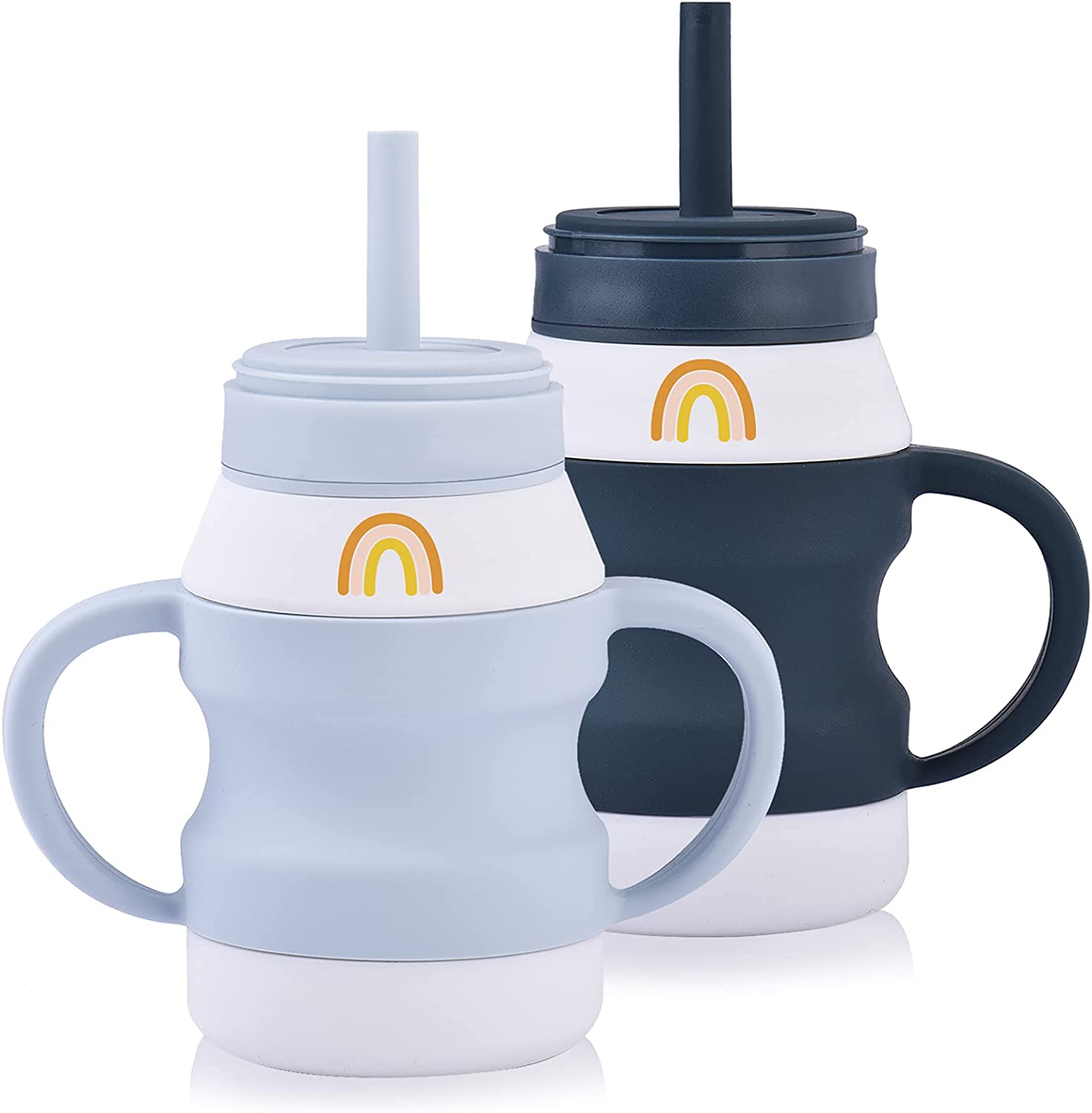 Toddler Cups Sprill Proof Sippy Silicone Tiny Straw Max 52% OFF Wholesale Trainin Cup