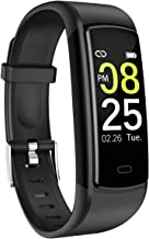 SIKADEER Fitness Tracker, Activity Tracker Waterproof Health Tracker with Blood Pressure Heart Rate Monitor, Sleep Monitor, Step Counter, Calories Fitness Watch for Women Men Kids