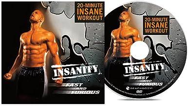 تمرین تمرین DVD و سریع و خشمگینانه Beachbody Insanity