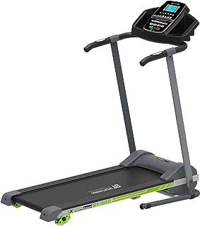 SportTronic Laufband mit Fitnesstracker und App Unterstützu