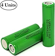 18mm by 65mm Battery for Doorbell Protected M/&A BD 2 Units Button Top 3400mAh LED Flashlight Doorbell Camera NCR18650B