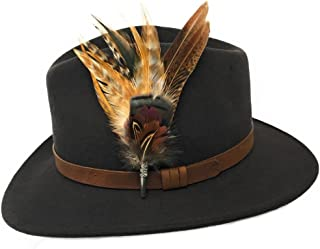 country hats with feathers