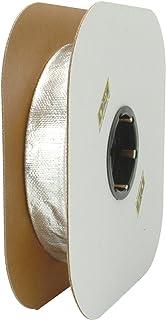 "Design Engineering 010419B50 Heat Sheath 1"" I.D. x 50ft Aluminized Sleeving for Ultimate Hi-Temp Protection"
