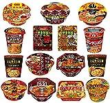 [15種] 辛いカップ麺 詰合せ [数量限定] 食べ比べ 辛口 詰め合わせ 15種セット /激辛カップラーメン カップ麺 [213] (計15個)