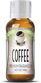 Coffee Scented Oil by Good Essential (Huge 1oz Bottle - Premium Grade Fragrance Oil) - Perfect for Aromatherapy, Soaps, Candles, Slime, Lotions, and More!