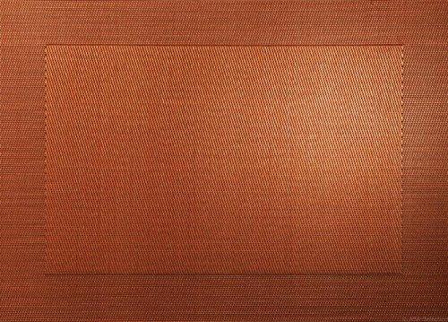 Set de tables carrées Asa en plastique 46 x 33 cm, Cuivré métallisé, 33 x 46 cm