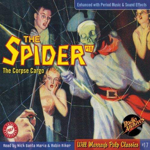 Spider #10 July 1934 (The Spider) audiobook cover art