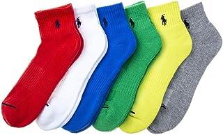 Men's Classic Sport Quarter Length Socks - 6 Pairs
