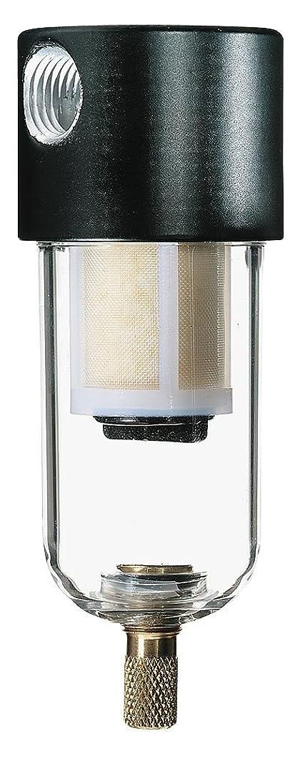 Parker Hannifin 8A02N-OB2-BX in-Line Compressed Air Filter, 6 scfm, 150 psi, 1/4