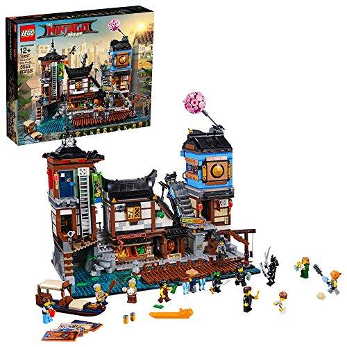 THE LEGO NINJAGO MOVIE NINJAGO City Docks 70657 Building Kit (3553 Pieces)