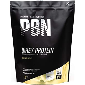 Premium Body Nutrition Whey Protein Powder 1kg Vanilla