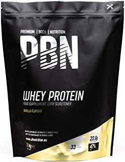 comprar comparacion PBN - Proteína de suero de leche en polvo, 1 kg (sabor vainilla)