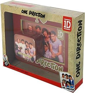 Cornice portafoto One Direction e piccolo portagioie con confezione regalo.