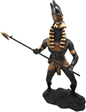 Atlantic Collectibles Horus Falcon Figurine Egyptian God of The Sky & Kingship Wielding Spear Figure 12