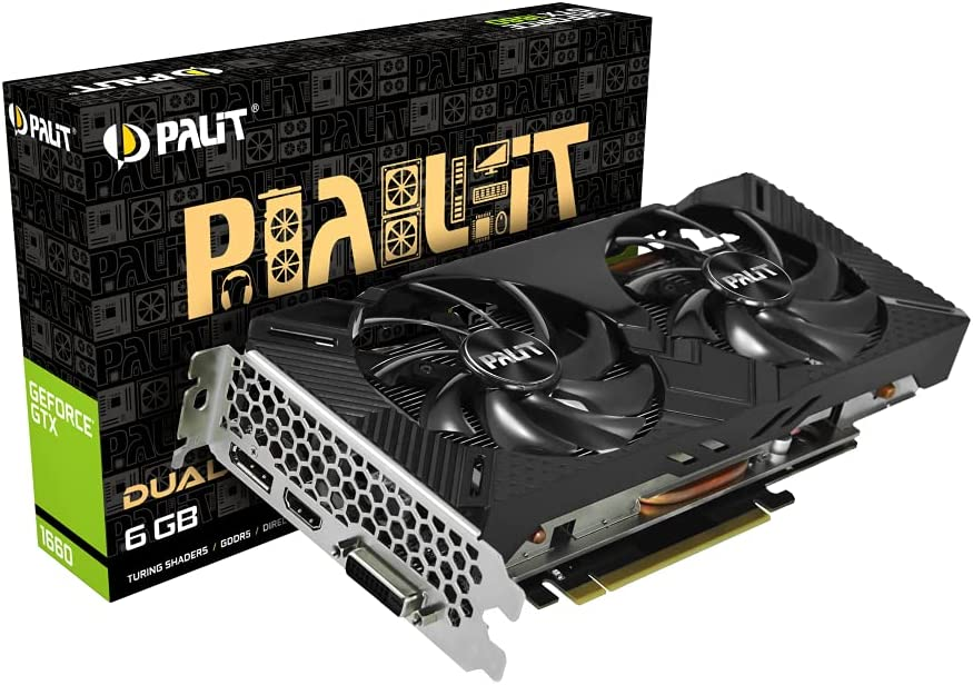 Palit Microsystems, GTX1660 Dual 6GB V1