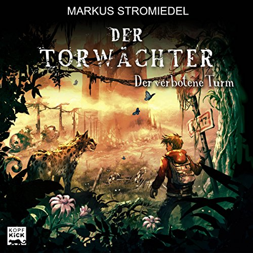 Der verbotene Turm audiobook cover art