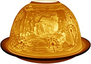 Welink Light-Glow Tealight Candle Holder, New Forest