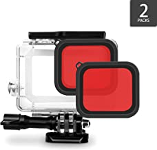 iTrunk Red Filter Compatible for GoPro Hero 7 Black GoPro HERO (2018) Hero 6 Hero 5 Housing Case (2pcs)