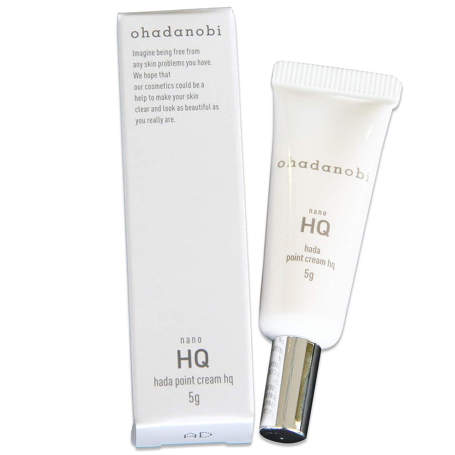 顕著援助代わりの純 ハイドロキノン 4% 配合 日本製 ハダポイントクリームHQ オハダノビ