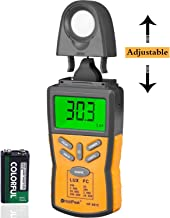 HOLDPEAK 881C Digital Light Meter,Lux Light Meter with Peak Hold, Lux/FC Unit, Data Hold and LCD Display,Range 0.1-200,000 Lux, 0.01-20,000 FC with Backlight for Plants and LED Lights