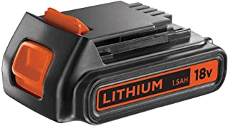 BLACK+DECKER 18 V Lithium-Ion Battery for Power Tools, Compatible with Cordless System and Drill Ranges, 1.5 Ah, BL1518-XJ