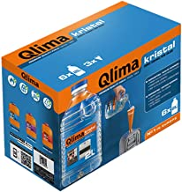 Qlima - Combustible líquido inodoro universal para estufa inverter Kristal, 12 litros