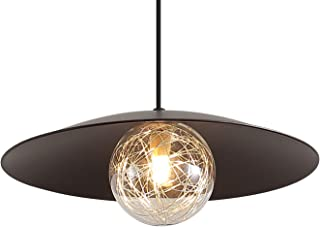 Modern Industrial Pendant Lighting with Bulbs, 11.8
