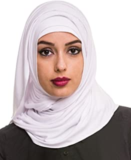 Women's Plain Cotton Jersey Lightweight Hijab Scarf