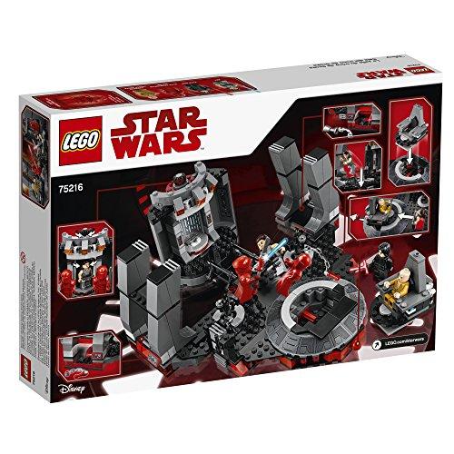 La Salle du Trône de Snoke LEGO Star Wars 75216 - 492 Pièces - 1