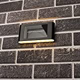 Proventa LongLife Aplique luz LED solar pared exterior sensor crepuscular Set 4