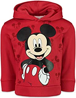 Mickey Mouse Boys Fleece Pullover Hoodie