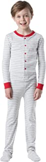 PajamaGram Big Boys Dropseat Sleeper Footie Pajamas