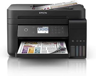 Multifuncional Epson EcoTank L6171 - Tanque de Tinta Colorida, Wi-Fi Direct, Ethernet, Frente e Verso Automático, ADF, Bivolt