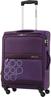 Kamiliant by American Tourister Venda Softside Spinner Luggage 80cm with 3 digit Number Lock - Purple