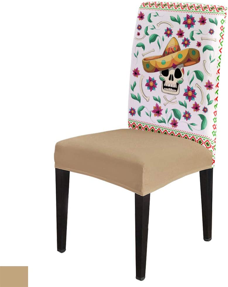 Mexican May 5th Dining Chair Cover List price Indianapolis Mall High Sl Stretch Armless Seat