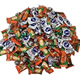 Christmas Chocolate Candy Bulk Mix, Includes Reese's Christmas Trees, Hershey's Peppermint Bark Bells, Kisses, York Snowflake Mints and More for Stocking Stuffers, Holiday Gifting, 5 Pounds
