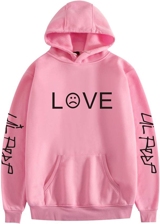JHDESSLY Pullover Hoodie Sweatshirt Love Lil Harajuku Unisex Tra