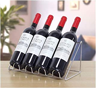 Gjrff Estante del Vino de la Mariposa - Vino Rack/Bodega/Storage- Libre de pie, sin Necesidad de ensamblaje (5 Botellas,)