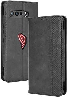 جراب لهاتف أسوس روج فون 3 ZS661KS، جراب قلاب ومحفظة جلدية لهاتف أسوس روج فون 3 ZS661KS، جراب هاتف مغناطيسي قديم، جراب هاتف...