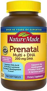 Nature Made Prenatal Multi+DHA 200mg. 150 Softgels
